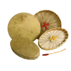 Shaman's Drum Made Of Calfskin-oval