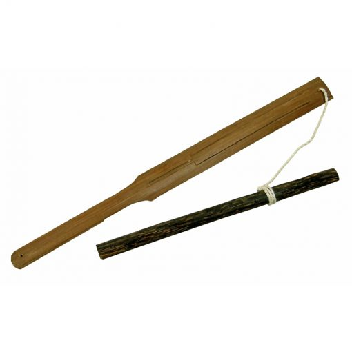 Palm leaf Geng Gong pluck jews harp from Bali, Indonesia. Pull attached string and produce sound.