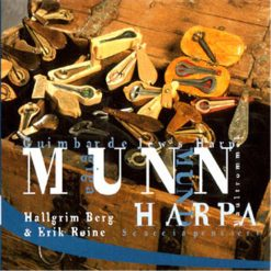 Munnharpa audio CD by Halgrim Berg and Erik Roine
