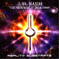cd cover of The Psychedelic Jew's Harp - Reality Substrate