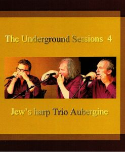 """Recorded in 2009, 4 vol. of the """"Jew's Harp Trio Aubergine"""" comes from the region Zeeland in the Netherlands."""