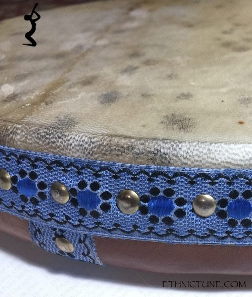 Ghaval 16 inches Pro Frame Drum cover detail view 03