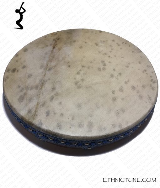 Ghaval 16 inches Pro Frame Drum front side detail view