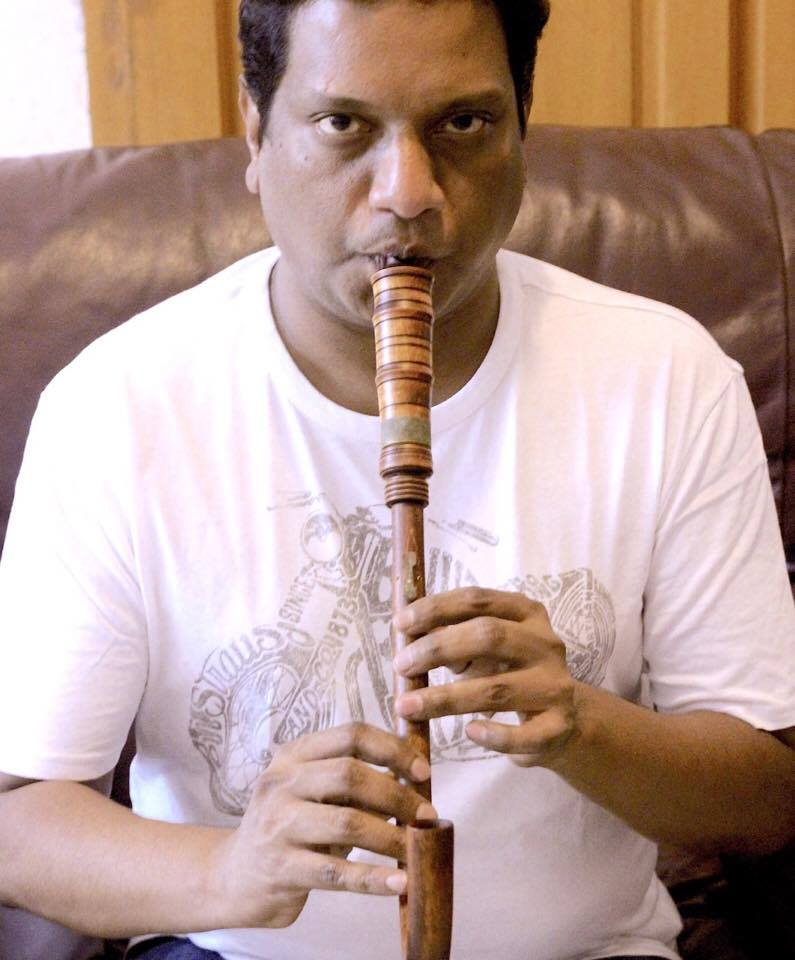 Kharem Kamlakhar performing authentic musical instrument of 13th century