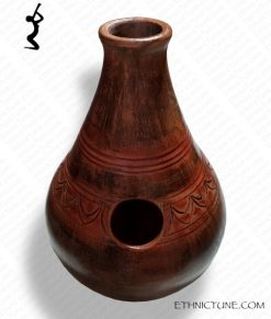 Professional udu made of cave